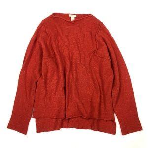 Sundance wool blend marled sweater pullover